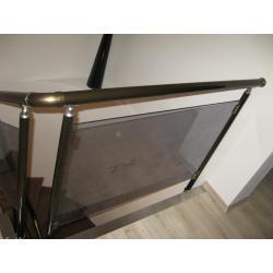 Комбинирование цвета - бронза и хром глянец, стекло бронза в массе в качестве наполнения