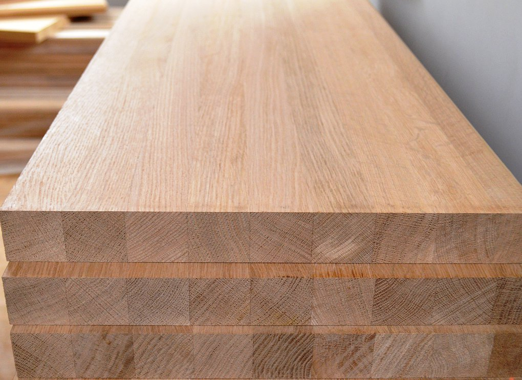Мебельный щит сосна сращенный 20 мм сорт А/А: продажа